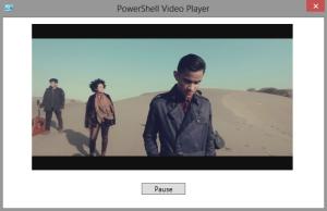 PowerShell Movie Player